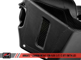 AWE AirGate Carbon Fiber Lid for Audi B9 (2660-25000)