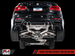 AWE Resonated Track Edition Exhaust for BMW F8X M3 / M4 with Diamond Black 90mm Tips (3015-43084)
