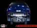 AWE Track Edition Exhaust for MK7.5 Golf R with Diamond Black 102mm Tips (3015-43110)