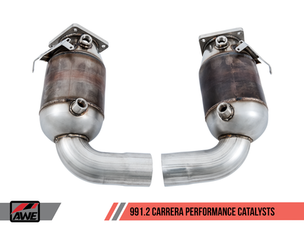 AWE Performance Catalysts for Porsche 991.2 3.0L - Non-PSE Only (3210-11014)