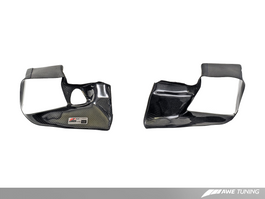 AWE Carbon Fiber Shrouds for Audi 2.7T - Shrouds Only, Set of Two (4510-11042)