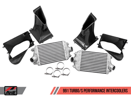 AWE Performance Intercooler Kit for Porsche 991 Turbo / S (4510-11050)