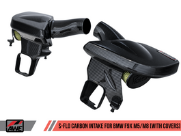 AWE S-FLO Carbon Intake with Covers for BMW F9X M5 / M8 (2660-15052)