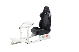 GTR Simulators GTA™️ Model Simulator Frame & Adjustable Racing Seat – Color Options Available (GTA+S105L)