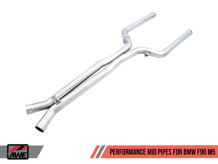 AWE Performance Mid Pipes for BMW F90 M5 (3020-11024)
