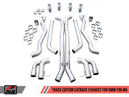 AWE Track Edition Cat-Back Exhaust for BMW F90 M5 (AWE-BMW-F90-M5-exh-catback)