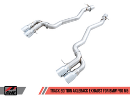 AWE Track Edition Axle-Back Exhaust for BMW F90 M5 (3020-42069)