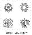 Judikins Stamps Celtic Q-Bit