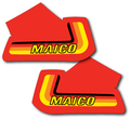 1982 Maico Full Tank Decals Perforated