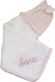 Little Giraffe Pink Luxe Hooded Towel