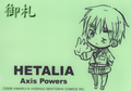 Axis Powers Hetalia Mini Ring Notepad - England