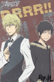 Durarara!! A6 Ring Notebook - Shizuo and Izaya Red version