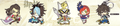 Sengoku Musou Rubber Strap Collection - Gracia