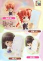 Gintama Petit Chara Land Ice Cream & Doughnut Figures - Katsura Kotaro Ver. 2