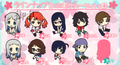 "Ano Hana Rubber Strap Collection - Anjou ""Anaru"" Naruko child version"