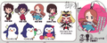 Mawaru Penguindrum Nendoroid Plus Rubber Strap Collection - Utada Hikari