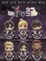 Fate/Zero Karakore Trading Figure Collection - Saber/Arturia