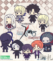 Fate/Zero Rubber Strap Collection Chapter 1 - Saber suit version