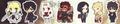 Fate/Zero Trading Rubber Strap Collection - Command Spell
