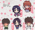 Rurouni Kenshin New Kyoto Season Rubber Strap Collection - Sagara Sanosuke