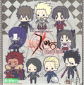 Fate/Zero Rubber Strap Collection Chapter 2 - Gilgamesh Casual version