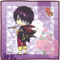 Gintama Microfiber Mini-Towel Winter Version - Takasugi Shinsuke