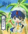Magi Mini-Character Straps - Aladdin
