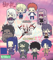 Fate/Stay Night Rubber Straps Chapter 1 - Caster