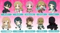 Sword Art Online Petanko Dust Plug Rubber Straps - Asuna