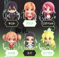 Sword Art Online Karakore Trading Figures - Asuna