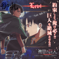 Attack on Titan Microfiber Mini-towels - Levi