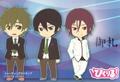 Free! Pikuriru Rubber Straps - Matsuoka Rin school uniform ver.