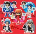 Petit Eva: Eva-Gurashi #05 Trading Figures - Ayanami Rei maid ver.