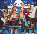 One Piece Chouzokei Damashii Trading Figures vol.4 - Portgas D. Ace w/ fire