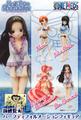 One Piece Half Age Heroines Trading Figures - Nico Robin w/ ice cream