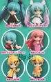 Hatsune Miku Selection Nendoroid Petit Trading Figures - Megurine Luka Akahitoha ver.