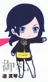 Devil Survivor 2 the Animation Rubber Straps - Sako Makoto