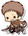 Attack on Titan Rubber Straps - Jean Kirchstein