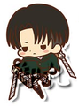 Attack on Titan Rubber Straps - Levi