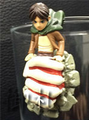 Attack on Titan Glass Hanger Figures - Eren Jager