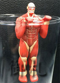 Attack on Titan Glass Hanger Figures - Colossal Titan