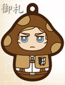 Attack on Titan Charanoko Straps - Erwin Smith