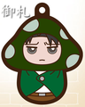 Attack on Titan Charanoko Straps - Levi