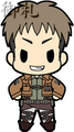 Attack on Titan Keychains vol. 1 - Jean Kirschstein