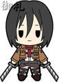 Attack on Titan Keychains vol. 2 - Mikasa Ackerman