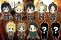 Attack on Titan Keychains vol. 2 - Mike Zakarius