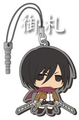 Attack on Titan Dust Plug Straps - Mikasa Ackerman