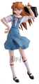 Rebuild of Evangelion Portraits Trading Figures Vol.7 - Asuka Shikinami Langley uniform ver.