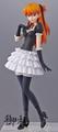 Neon Genesis Evangelion Portraits Trading Figures vol. 9 - Asuka Langley Sohryu red lolita ver.