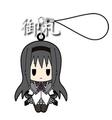 Puella Magi Madoka Magica Rubber Strap vol 2 - Akemi Homura